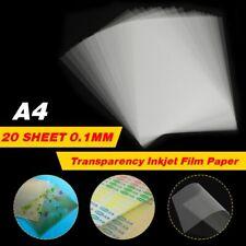 Transparency Inkjet Film Paper 20 Sheet Screen Printing Pcb Print Stencil Design