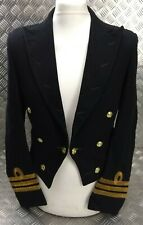 Genuine Vintage British Royal Navy RN CMDR Commander Rank Mess Dress Jacket