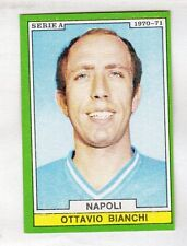 figurina CALCIATORI EDIS 1970-71 NAPOLI BIANCHI