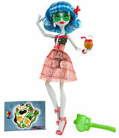 Monster High Ghoulia Yelps SCHÄDELKÜSTE Skull Shores OVP W9181