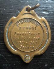 Militaria rare médaille penning 1er division d'armée Championnat de foot 1921-22