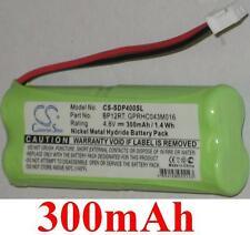 Batterie 300mAh type BP12 BP12RT GPRHC043M016 Pour Dogtra 1600