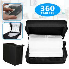 More details for 360 sleeve cd dvd ray disc carry case holder protector storage bag wallet binder