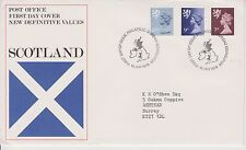 GB ROYAL MAIL FDC FIRST DAY COVER 1978 SCOTLAND DEFINITIVES BUREAU PMK