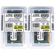 4GB KIT 2 x 2GB HP Compaq Business 2210b 2230s 2710p 8510p nc6310 Ram Memory