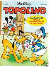 TOPOLINO n. 2007   (con adesivi)