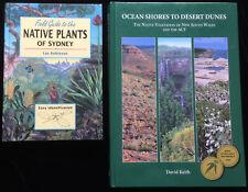 Native Vegetation NSW & ACT Ocean Shores Native Plants Sydney Field Guide BOOKS