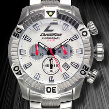 Chronotech European Designer Chronograph Mens Watch / MSRP $1,800.00