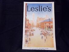 1913 JULY 24 LESLIE'S WEEKLY MAGAZINE - HOT DAY IN NY HERALD SQUARE - ST 1239