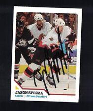 Jason Spezza Ottawa Senators Signed SI For Kids Magazine Card W/Our COA