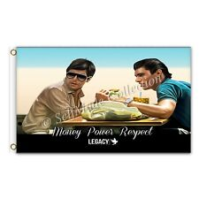 Scarface Money Power Respect 3ftx5ft flag banner limited edition amazing quality