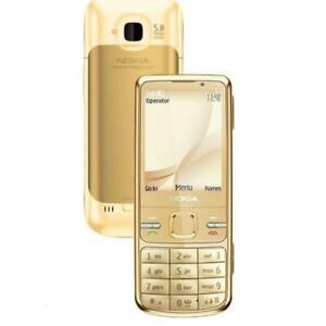New Condition Nokia  C5-00 5MP Bluetooth 3G Unlocked Phone GOLD