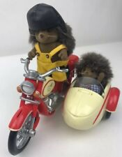 Sylvanian Families Motorbike and Sidecar with Figures