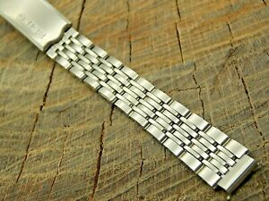 Seiko Vintage NOS Unused Watch Band Stainless 10mm Deployment Clasp Bracelet
