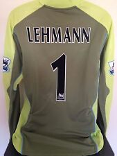 Arsenal FC Lehmann 2003/04 Portiere Calcio Shirt (Xl) SOCCER JERSEY (BNWT)