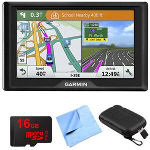 Garmin Drive 51 LM GPS Navigator with Driver Alerts USA w/ Memory Card Bundle