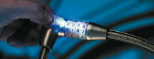 BURG-WÄCHTER Zweirad-Seilschloss mit Licht 230 65 L
