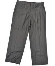 Van Heusen Mens Charcoal Gray Pinstripe Modern Fit Dress Pants 38 W 29 L