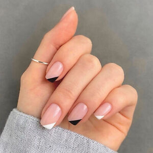 Cover Artificial Manicure Tool Fake Nails Square False Nails Wearable Nail Tips