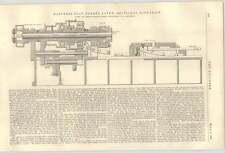 1900 Jones Lamson Springfield Hartness Flat Turret Lathe