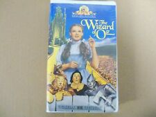The Wizard of Oz VHS Tape 1996 Remastered Release FACTORY SEALED