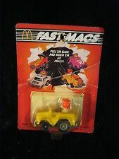"1985 McDonalds Happy Meal Toy - Fastmacs ""RONALD MCDONALD"" NIP"