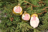Christbaumschmuck Jesuskind Weihnachtskugel Engel 3 Stk. Glas Weihnachten Deko