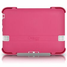 "OtterBox Kindle Fire HD 7"" 2012 Defender Case/Stand Papaya Pink White Cover New"