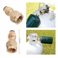 Propane Bottle REFILL KIT LP gas adapter grill heater camping cooking 1lb tank