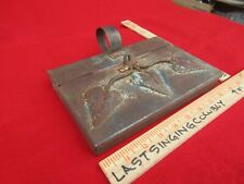 """Vintage """" Metal"""" Silent Butler Hand Made, from Mesilla / Las Cruces area Usa"""