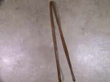 One Leather Saddle String Tie On String 96 Inches Long x 1/2 Inch Wide Brown