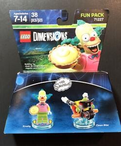 LEGO Dimensions Fun Pack 71227 [ The Simpsons / Krusty + Clown Bike ] NEW