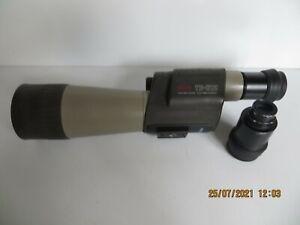 KOWA ts-612 spotting scope 20mag + 30mag eyepieces x 60mm + kite skua case pre-o