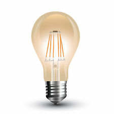 LED Filament E27 Lampe 4W 350Lm A60 extra-warmweiss amber gold