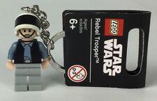 Lego STAR WARS Rebel Trooper Mini Figure, Key-ring, Mint W/tag, New