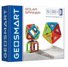 GEOSMART Educational SOLAR SPINNER The Future of Geomagnetic Play 23 Pieces