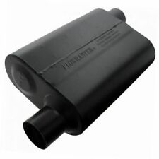 Flowmaster 942548 Super 44 Muffler, 2.50 Offset In / 2.50 Offset Out, Aggr Sound