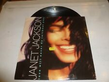 "JANET JACKSON - Love Will Never Do [Without You] - 1990 UK 3-track 12"" single"