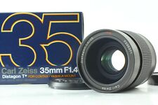 【Mint / Boxed】 Contax Distagon T* 35mm f/1.4 MMJ Lens C/Y Mount From JAPAN #3292