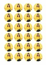 24 X Wiggles Emma Wafer Rice Paper Cupcake Toppers Edible Girls Cake Decorations