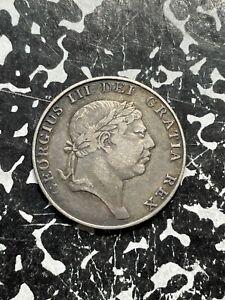 1813 Ireland 10 Pence Bank Token Lot#BG420 Silver!