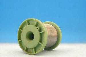 1x 91g SPOOL NICHROME 48AWG 0.03mm 1482 Ω/m 451 Ω/ft Resistance WIRE