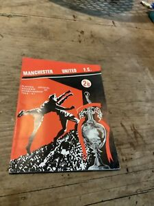 MANCHESTER UNITED - PLAYERS OFFICIAL SOUVENIR OF 1966/67 CHAMPIONSHIP