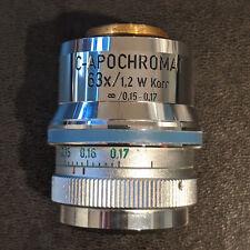 Zeiss Microscope C Apochromat 63x12 Water Korr Rms Objective Cn 44 06 68 01