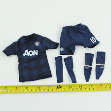 TE08-26 1/6th Scale ZCWO Manchester United No.10 Blue Jersey Set