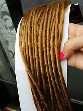 40 DOUBLE ENDED DREAD LOCK RASTA EXTENSION COLORE BIONDO RAME