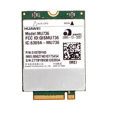 Wlan Card LTE MU736 3G Built-in Module WWAN HSPA NGFF for Dell Venue 8/11/15Pro