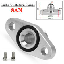Alumimum Turbo Oil Return Flange 8AN Fit for KKK K03 K04 T517Z T518Z Mitsubishi