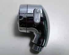 Portable Chrome Plastic Multipurpose Shower Head Nozzle for Spa Home Boat or RV
