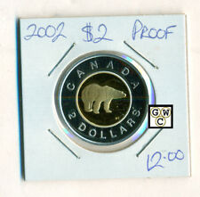 2002 Canada Proof $2 Coin (OOAK)